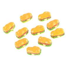 10pcs 1:12 Dollhouse Hot Dog Bakery Food Diy Home Miniature Decor Craft 2yo