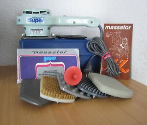 MASSATOR PICCO 7 Massagegerät Kurt Stoll Neidlingen Vibrationsmassage+Zubehör