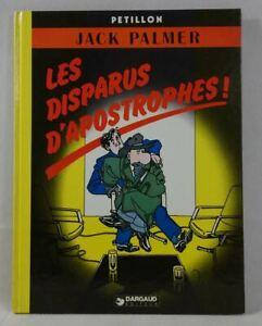 EO - PETILLON - JACK PALMER tome 4 - Les Disparus d'Apostrophes ! - Dargaud 1982