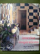 Colefax & Fowler Interior Inspirations by Roger Banks-Pye (1997, Hardcover)