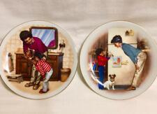 Set 2 Special Memories Mothers Day Mini Porcelain Collectible Avon Plates 85 86