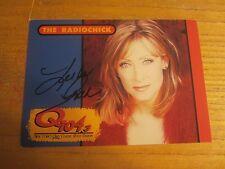 "Leslie Gold Radio DJ ""The Radio Chick"" Autographed 5X7 Photo Q104.3 New York"
