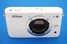 Nikon 1 J1 10.1 MP Digital Camera - White (Body Only) - NO ACCESSORIES