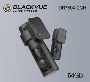BlackVue Dash Cam DR750X-2CH Front and Rear Wi-Fi GPS (64GB) - NEW