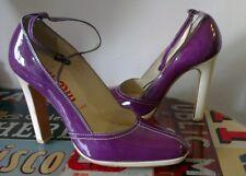 Miu Miu @ Prada purple courts heels 36 UK 3 fits slim UK 4 too, vgc