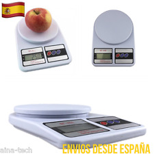 Báscula Electrónica Digital De Cocina 7Kg/1Gr Precisión Balanza Pesa