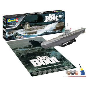 Revell 05675 Das Boot U96 Type VII C Submarine Plastic Model Kit Scale 1/144