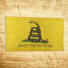 3x5 Ft Gadsden DONT TREAD ON ME Culpepper Culpeper Tea Party Flag New