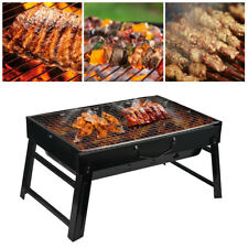 BBQ Barbecue Grill Portable Folding Camping Charcoal Barbecue Outdoor Cooking US