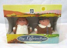The Lilgrim Pair Publix Thanksgiving Salt Pepper Shakers Set Collectible Bin W