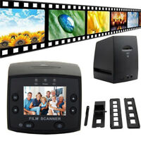 USB LCD Digital 35mm Film Scanner Converter Slide Negative Photo Scanner NEW