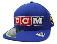 Colorado Rockies CCM MO20Z Retro NHL Team Logo Stretch Fit Hockey Cap Hat  S/M