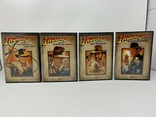THE ADVENTURES OF INDIANA JONES THE COMPLETE DVD MOVIE COLLECTION  FULL SCREEN