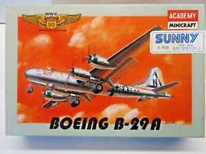 Minicraft 1:144 Scale Boeing B-29A Superfortress Model Kit - New - Kit # 4404