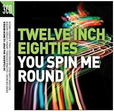 "TWELVE INCH EIGHTIES - YOU SPIN ME ROUND 2016 3CD 30 x 12"" Mixes!"