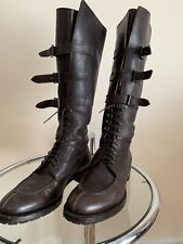 Henderson  Mens Leather High Boots 44,5 US 11,5