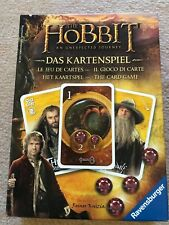 The Hobbit card game, Ravensburger, used, in original box with manual