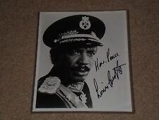 LOUIS GOSSETT JR. SIGNED AUTOGRAPHED VINTAGE 8X10 PHOTO AN OFFICER & A GENTLEMAN