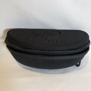 Maui Jim Sport Sunglasses Case Only Black Zip Around Fabric