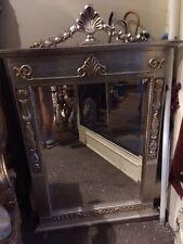 Antiker Italienischer Spiegel weissgold / silber