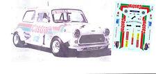 Decals 1/43e Austin Mini Castrol Simon Watson Espagne 1991