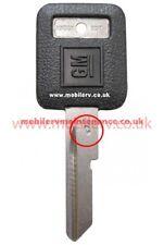 American Motorhome RV GM Ignition Key Blank, Letter E