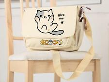 Japanese Game Neko Atsume Cat Backyard Anime Cosplay Bag Shoulder Bag Schoolbag