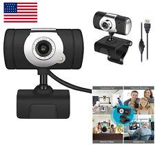 USB2.0 HD Webcam Camera Web Cam With Microphone For Computer PC Laptop Desktop A