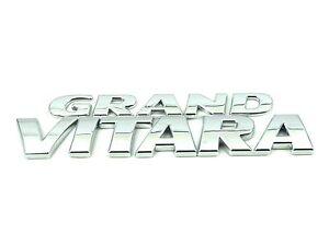 Genuine New SUZUKI GRAND VITARA TRUNK EMBLEM Boot Badge 4x4 SUV V6 XL-7 V6