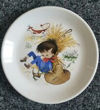 BILTONS Pottery  Nursery Rhymes Vintage Children Plate Little Boy Blue
