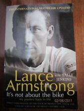 IT'S NOT ABOUT THE BIKE - LANCE ARMSTRONG + S JENKINS