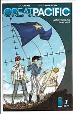 GREAT PACIFIC # 1 (IMAGE COMICS, 1ST PRINT, JULY 2013), NM