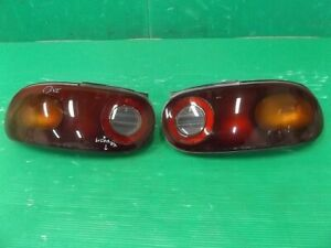 JDM 1991 Mazda MX-5 MIATA Roadster NA Taillights Tail Lights Lamps SET OEM