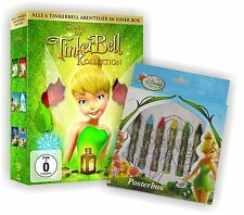 THE TINKERBELL Adventure Box 1 - 6 COLLECTION ltd. POSTERBOX Disney DVD Edition