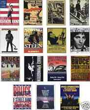 Bruce Springsteen Concert Posters Trading Card Set
