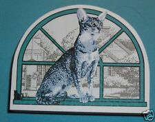 Cat's Meow Village Purebred Cats: Oriental Shorthair