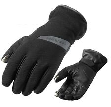 GUANTI GLOVES MOTO REV'IT REVIT SENSE H2O IMPERMEABILI WOTERPROOF NERO TG XL