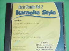 Chris Tomlin~#2 ~Christian Daywind Karaoke Style ~ Our God ~~ I Will Rise ~ CD+G