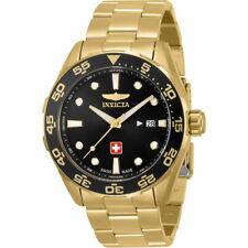 Invicta Men's Watch Pro Diver Swiss Quartz YG Stainless Steel Bracelet 33456