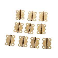 2x(10 Stueck Mini Schmetterling Stil Kabinett Schublade Scharnierband GY