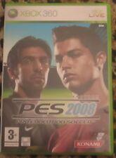PES 2008 PRO EVOLUTION SOCCER XBOX 360 KONAMI VERSIONE PAL