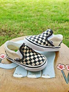 "Vans ""Checkerboard"" Toddler 4.5C"