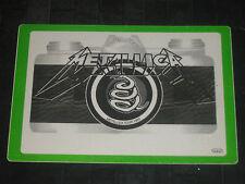 METALLICA 1993 ORIGINAL OTTO BACKSTAGE PASS**UNUSED**EXCELLENT**SUPER RARE**