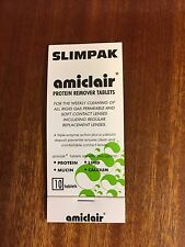 10 Amiclair Enzyme Protein Remover Tablets hard and soft contact lenses Slimpack