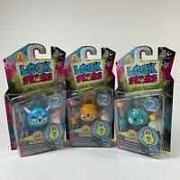 Hasbro Lock Stars Series 2 - Collectible Mystery Toy Surprise Inside - Lot of 3