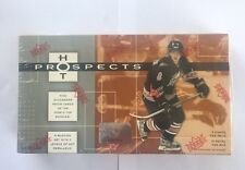2005-06 Fleer Hot Prospects Hockey Factory Sealed Hobby Box - Crosby RC?