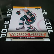 2013 14 UD YOUNG GUNS 234 JONAS BRODIN RC MNT/NRMNT +FREE COMBINED S&H