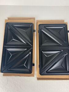 BLACK & DECKER WM2200SD Meal Station REPLACEMENT PLATES Sandwich Grates