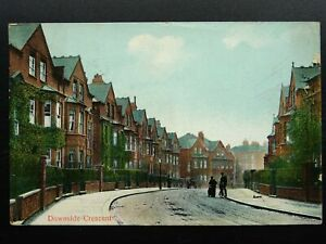 London Camden BELSIZE PARK Downside Crescent c1911 Postcard by C.C. Cranfield