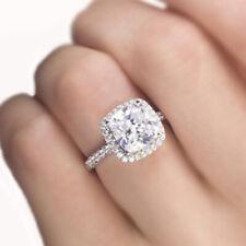 GIA Certified Diamond Engagement Ring 1.65 carat Cushion Shape Platinum